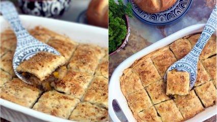 Sahurda yapılabilecek en hızlı börek tarifi