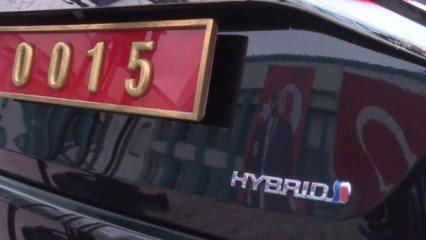 Türkiye'de bir ilk! Hybrid makam aracı