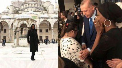 ABD'li şarkıcı Miles Erdoğan'la görüştü!