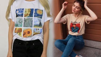 Çizgi film karakterli t-shirtler nasıl kombinlenir?