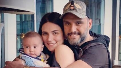 Alişan ve Buse Varol çiftinden mutlu aile pozu!