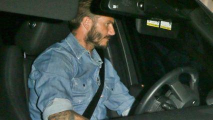 David Beckham'ın ehliyetine el konuldu!
