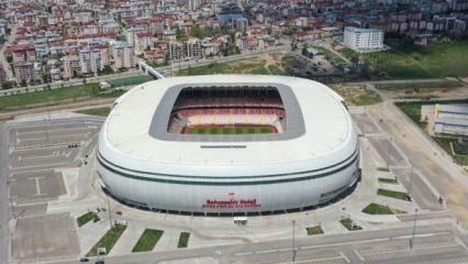 Yeni 4 Eylül Stadyumu kupa finaline hazır