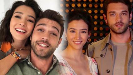 Her Yerde Sen dizisinin oyuncuları Aybüke Pusat ile Furkan Andıç'tan selfie!
