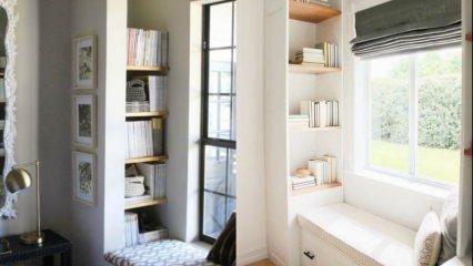 Evinizin havasını değiştirecek pencere önü dekorasyonu fikirleri
