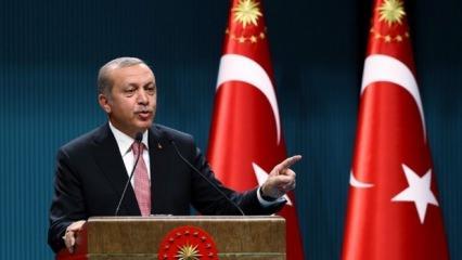 Başkan Erdoğan müjdeleri peş peşe sıraladı!