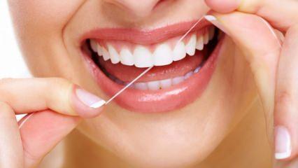 Diş ipi nasıl kullanılır? Ne kadar sıklıkla kullanılmalıdır?