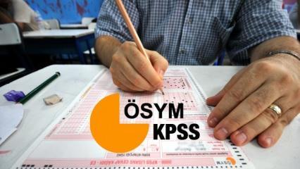 KPSS sınavı ne zaman olacak? 2019 Kamu Personeli Seçme Sınav tarihi...