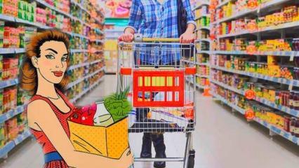Market alışverişini ucuza getirmenin püf noktaları