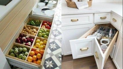 Mutfak dolap içleri için doğru dekorasyon önerileri