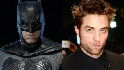 Yeni Batman Robert Pattinson oldu