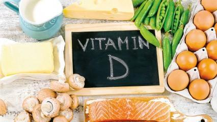 D vitamini eksikliği hangi hastalıklara yol açar? Hangi besinlerde D vitamini bulunur?