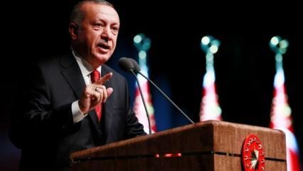 Erdoğan'dan dünyaya net mesaj: Yok böyle bir şey...