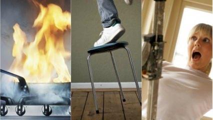 Ev kazalarına karşı alınacak önlemler