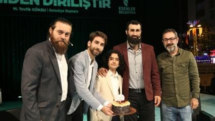 Diriliş Ertuğrul oyuncuları 'Ramazan Diriliştir' etkinliğine katıldı