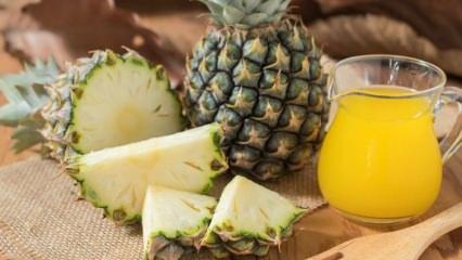 Ananas ve ananas suyunun faydaları nelerdir? Düzenli bir bardak ananas suyu içerseniz?