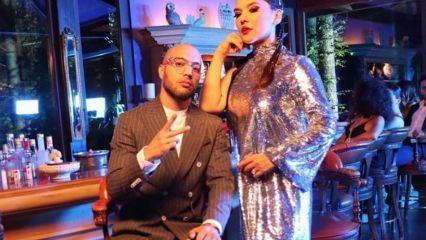 Demet Akalın genç rapçi Ben Fero ile klip çekti