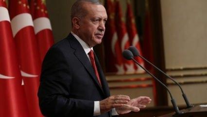 Dev operasyon sonrası Erdoğan'dan ilk açıklama!