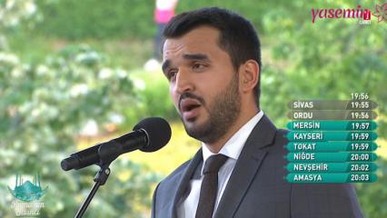 Muhammed Karaca'dan muhteşem şiir yorumu