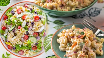 Makarna salatası kilo aldırır mı? Diyet makarna salatası tarifi