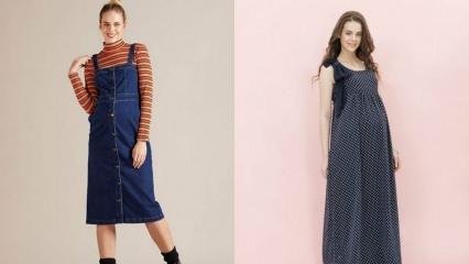Sezonun trend hamile giyim modelleri