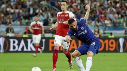 UEFA Avrupa Ligi'nde şampiyon Chelsea!