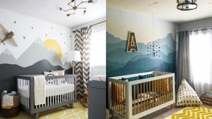 Bebeklere özel oda dekorasyonu önerileri