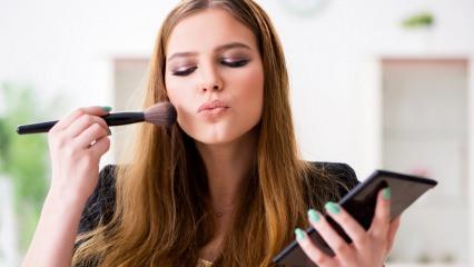 Yorgun cilde nasıl makyaj yapılır? Yorgun yüz makyajı