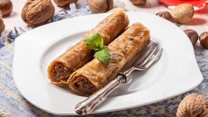 100 kalorilik hafif ve kolay diyet bayram baklavası tarifi