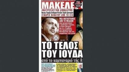 CHP adayını öven Yunan basını Başkan Erdoğan'a nefret kustu