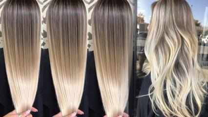 Evde platin sarısı saç nasıl yapılır? Platin saç boyama rehberi