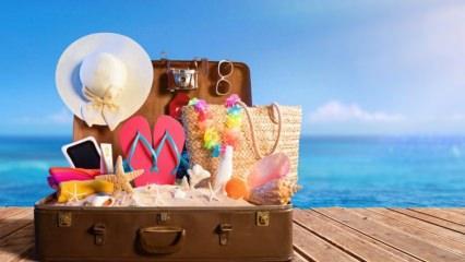 Tatilden önce alınması gereken önlemler