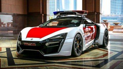 Sadece 7 adet üretildi! Dubai polisi kullanacak