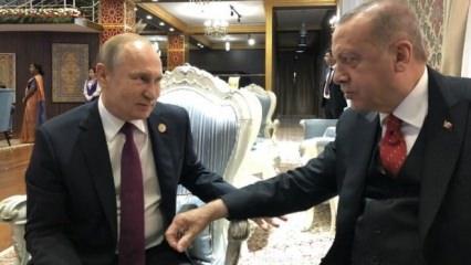 Erdoğan: Putin'in bir özelliği var...