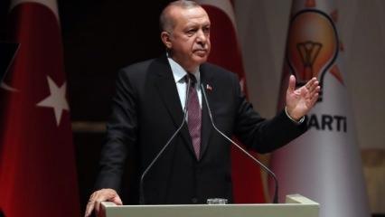 Erdoğan: TSK'dan emekli olmuş bazı kişiler! Korkaksınız!