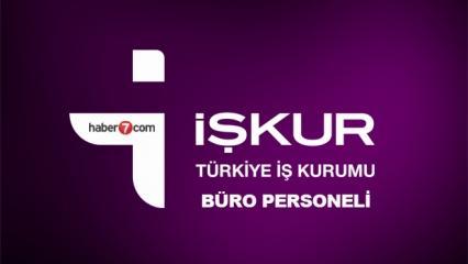 İŞKUR'dan özel sektöre 3250 büro personeli alımı! Başvuru ekranı ve şartları...
