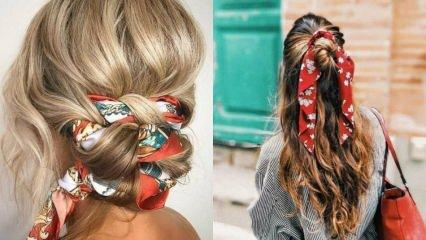 Saç bantları için farklı kullanım önerileri