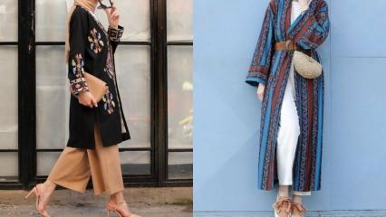 Yaz sezonunun kimono modelleri