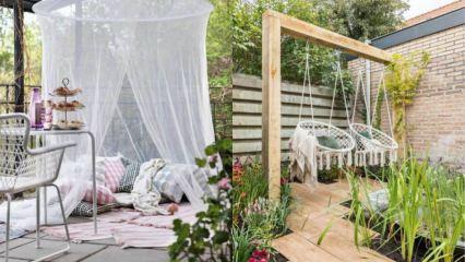 Bahçeli evler için dekorasyon önerileri