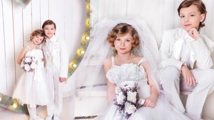 Düğünde ne giyilir? Çocuk düğün kıyafet modelleri ve önerileri
