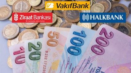 Ev almak isteyenlere Ziraat Bankası, Halkbank, Vakıfbank müjde! Kredi faizleri...