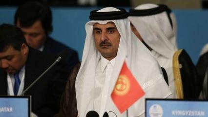 Katar Emiri'nden Mursi mesajı