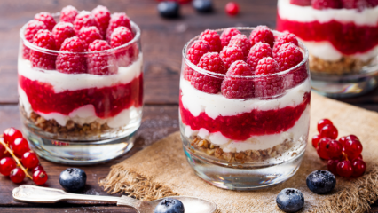 Kilo yapmayan pratik diyet tatlı tarifleri