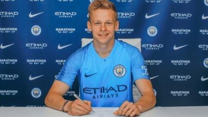 Manchester City'den Zinchenko'ya yeni sözleşme