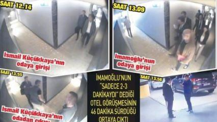CHP adayı İmamoğlu Küçükkaya ile 46 dakika görüştü