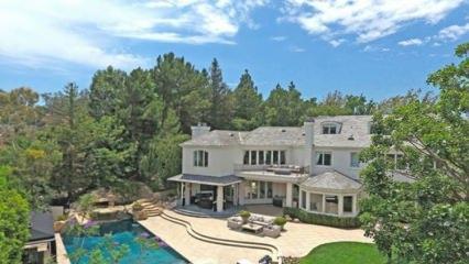 Ünlü şarkıcı Robbie Williams ve Türk eşi Ayda'nın şahane evi