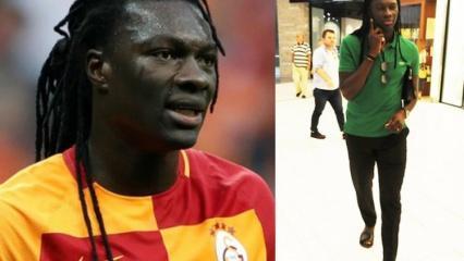 Galatasaray'ın eski forveti Bafetimbi Gomis'den takdirlik hareket!