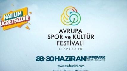Almanya'da spor, kültür ve eğlence dolu festival