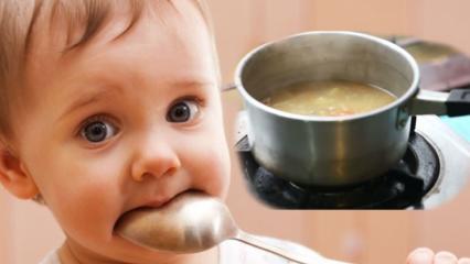 Bebeklere kilo aldıran çorba nasıl yapılır? Bebekler için doyurucu çorba tarifi