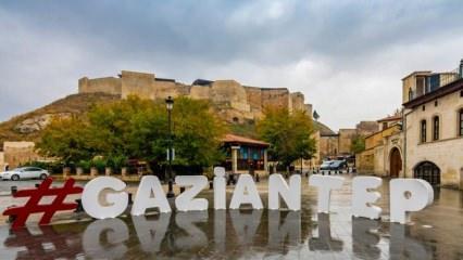 Gaziantep tarihi yerleri ve doğal güzellikleri